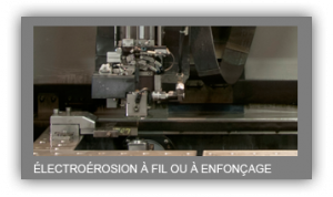 Machine Electro erosion a fil ou en enfonçage