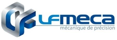 logo officiel de la Société LF MECA experte en mécanique de précision